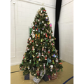 School Hall  Christmas Tree