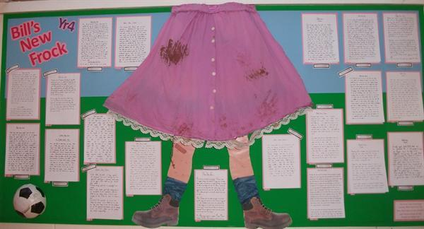 Y4 Display - Bill's New Frock.