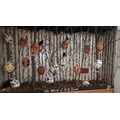 Year 5 - Clay Mask Display 2017-18