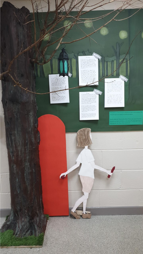 Year 5 The Journey Display