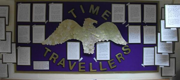 Y3 Display - Time Travellers.