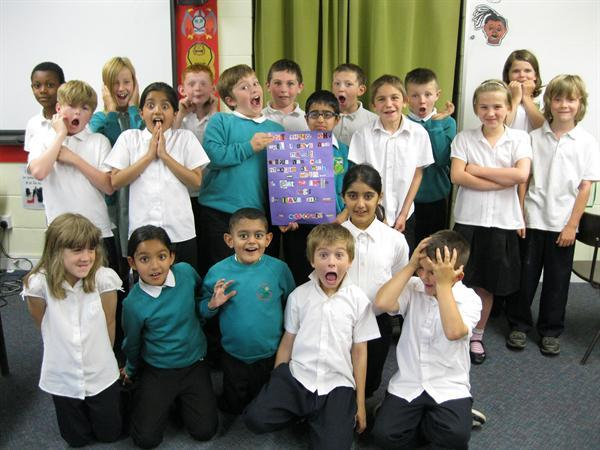 Year 4 shocked at discovery of ransom note!