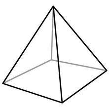 Square based pyramid