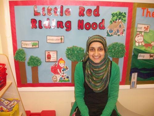 Mrs. Hanif is a Bi-lingual assistant.