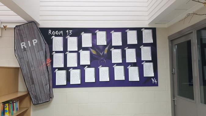 Y4 Room 13 Display