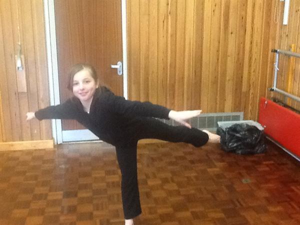 Year 4 gymnastic balances