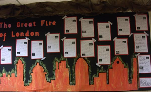 Y2 Display - The Great Fire of London.