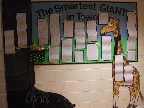 Y1 display - The Smartest Giant in Town