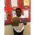 Ugochi is Year 4's star writer this half term.