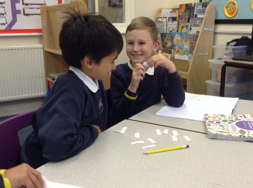 Playing a times table game
