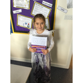 Year 3/4 - Lilli for a fantastic character description.