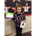 Year 2's Autumn 2 star reader is Edward