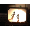 Rama & Sita shadow puppets