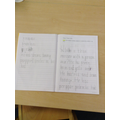 Some of our super writing!
