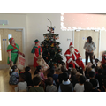 Visit from Santa and his Elves