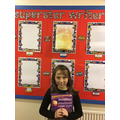 Mija is Year 5's star writer this half term for a brilliant piece of persuasive writing.