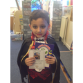 Yousaf is Year 2's star reader this half term