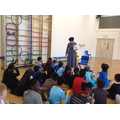 Mrs Kemplay read to Y5