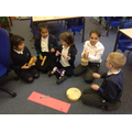 Creating and practising their composition