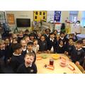 Our teamwork reward... a Gruffalo tea party!