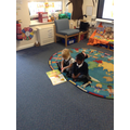 Reception - sharing a story together