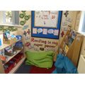 We love reading in our super reading corner!