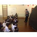 Y3 learning about planets in the space dome