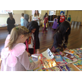 Y3's at the book fair