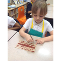 Using pattern & texture to create the hull.
