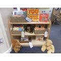 Nursery reading area