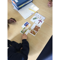 Working as a team to give our opinions on the most important symbols of Easter!