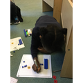 Using concrete equipment in maths