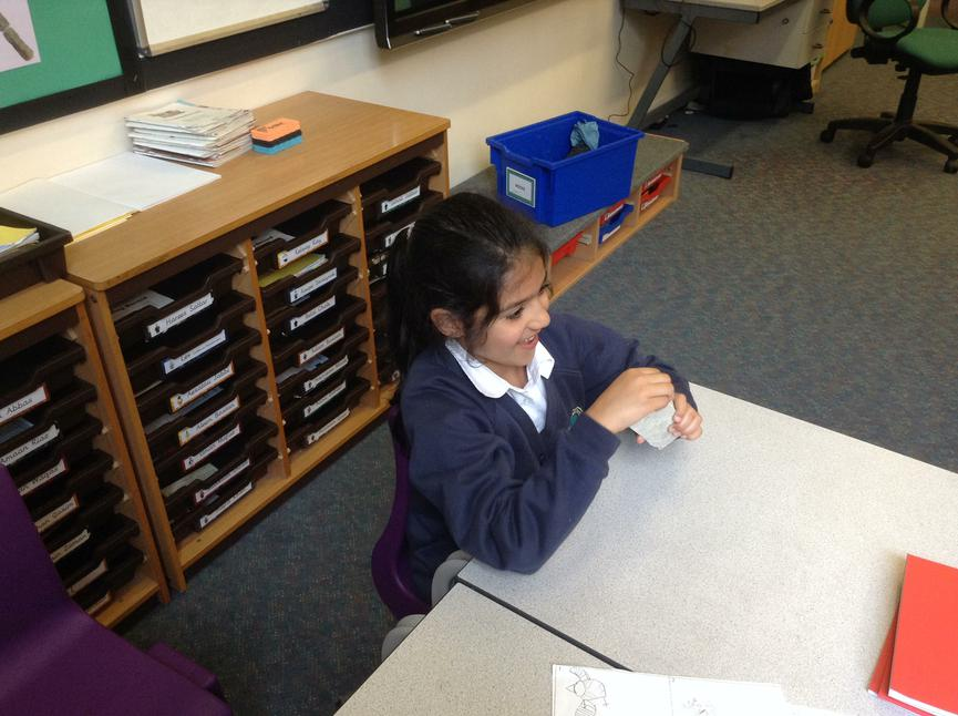 Looking at the properties of different rocks