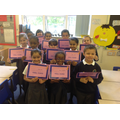 Year 3 100% attenders -Autumn Term 1 2017