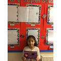 Year 4's Star Writer- Amilah