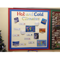 Geography - Hot & Cold Climates