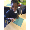 Tasting Hot cross buns and chocolate eggs as part of our Easter topic in RE!