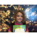Morning Nursery's star reader - Salma