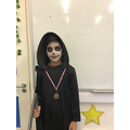 Year 5's sports star this half term is Muhammad for his contributions in gymnastics.