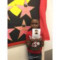 Year 3's Autumn 2 star reader is Samuel