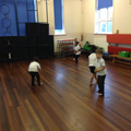 Throwing and catching - beanbags