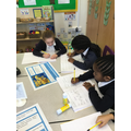 Researching sea creatures