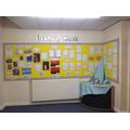 whole school poetry display