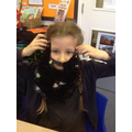 Making a Mr Twit's disgusting beard