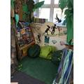 Jungle Drop reading area