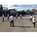 Outdoor PE - Attack, defend, shoot