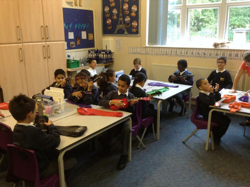 Children playing and singing 'My Dog's got fleas!'