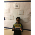 Abdul is Year 5's star this half term.