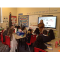 Miss Young read to Y6