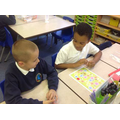 Y3's using their speaking & listening skills